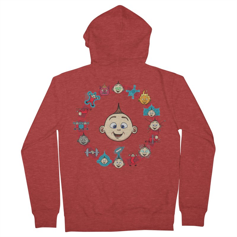 The Incredible Jack Jack Women's French Terry Zip-Up Hoody by ArtByDanger's Artist Shop