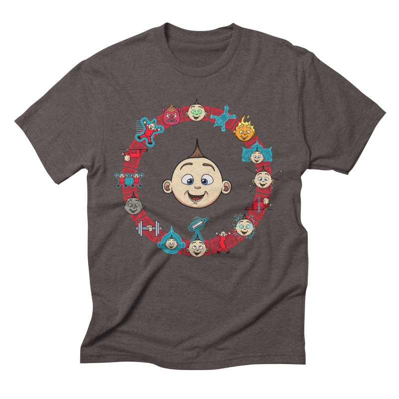 The Incredible Jack Jack Men's Triblend T-Shirt by ArtByDanger's Artist Shop