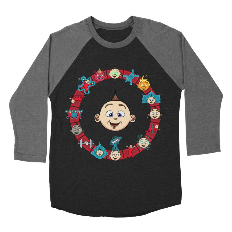 The Incredible Jack Jack Men's Baseball Triblend Longsleeve T-Shirt by ArtByDanger's Artist Shop