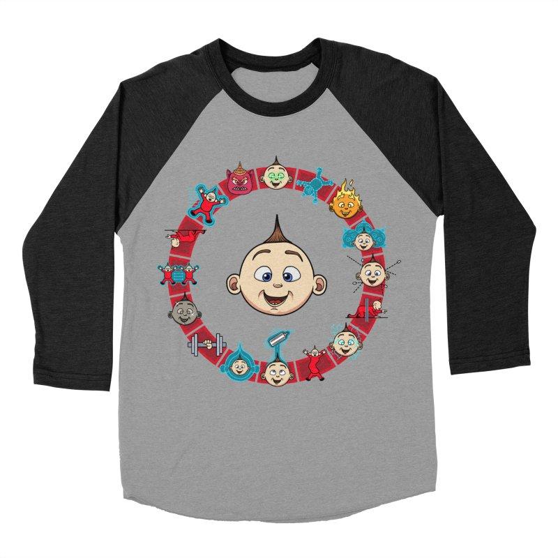 The Incredible Jack Jack Men's Baseball Triblend Longsleeve T-Shirt by ArtByDanger's Artist Shop