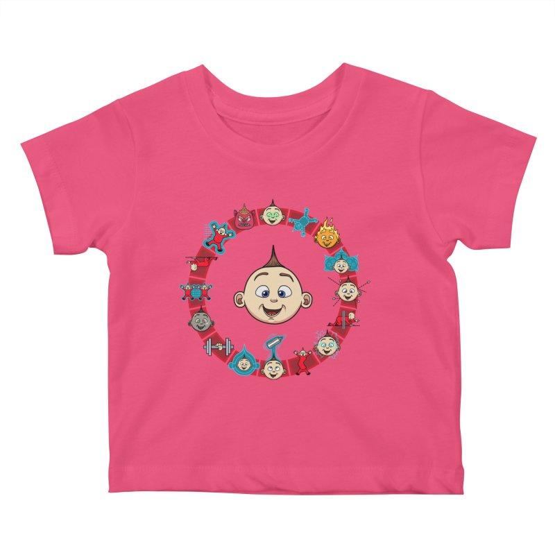 The Incredible Jack Jack Kids Baby T-Shirt by ArtByDanger's Artist Shop