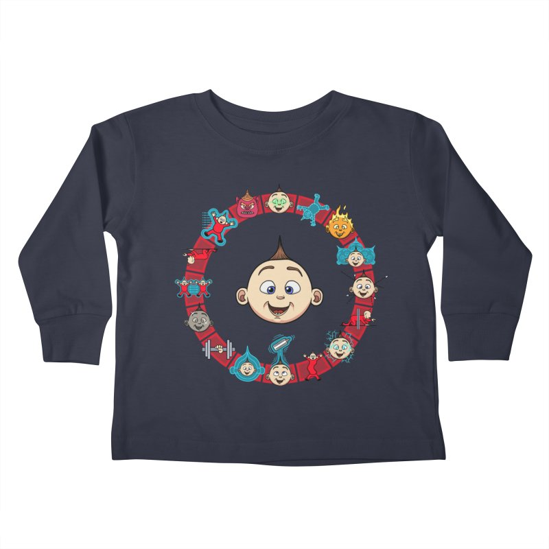 The Incredible Jack Jack Kids Toddler Longsleeve T-Shirt by ArtByDanger's Artist Shop