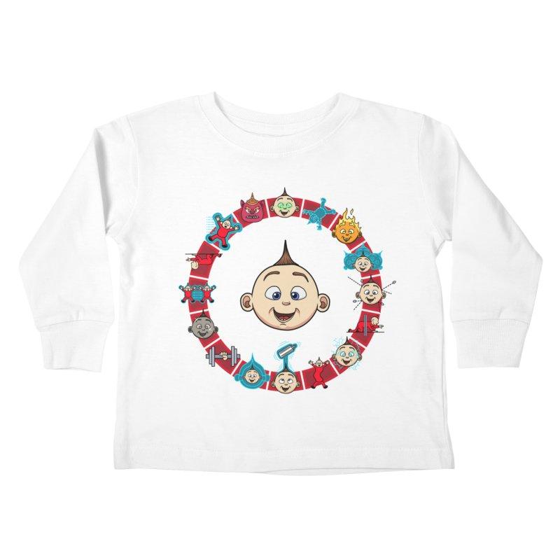 The Incredible Jack Jack Kids Toddler Longsleeve T-Shirt by ArtByDanger's Artist Shop