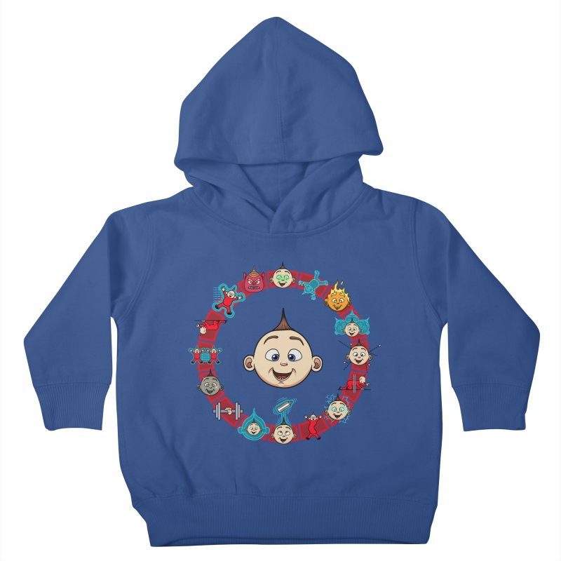 The Incredible Jack Jack Kids Toddler Pullover Hoody by ArtByDanger's Artist Shop