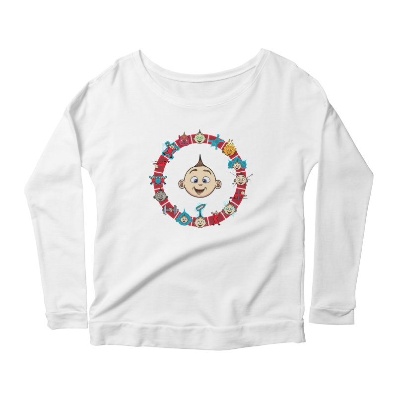 The Incredible Jack Jack Women's Scoop Neck Longsleeve T-Shirt by ArtByDanger's Artist Shop