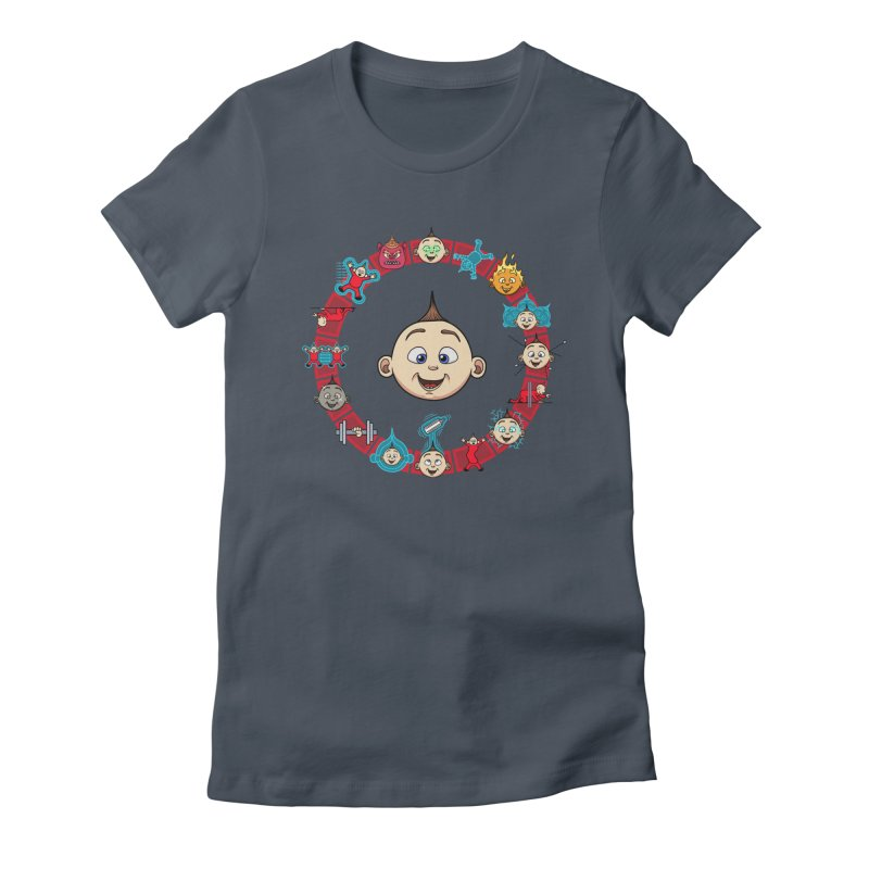 The Incredible Jack Jack Women's T-Shirt by ArtByDanger's Artist Shop