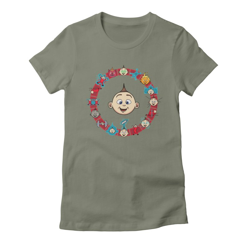 The Incredible Jack Jack Women's Fitted T-Shirt by ArtByDanger's Artist Shop