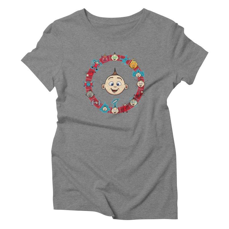The Incredible Jack Jack Women's Triblend T-Shirt by ArtByDanger's Artist Shop