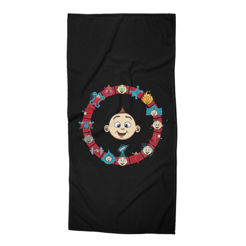 The Incredible Jack Jack Accessories Beach Towel by ArtByDanger's Artist Shop