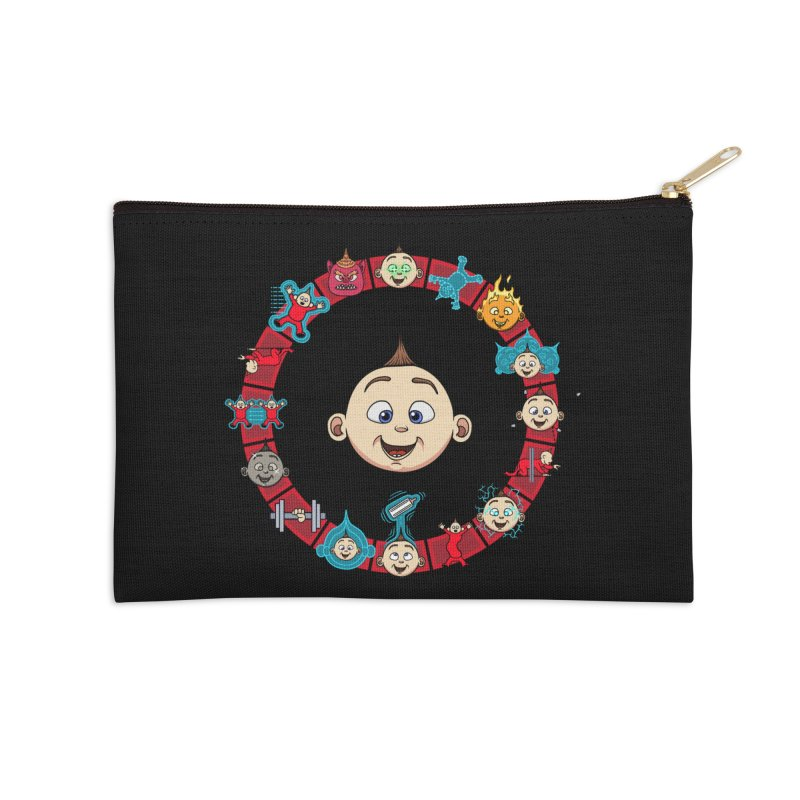 The Incredible Jack Jack Accessories Zip Pouch by ArtByDanger's Artist Shop