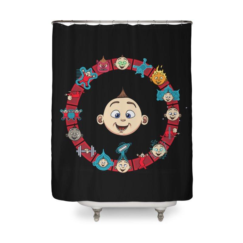 The Incredible Jack Jack Home Shower Curtain by ArtByDanger's Artist Shop