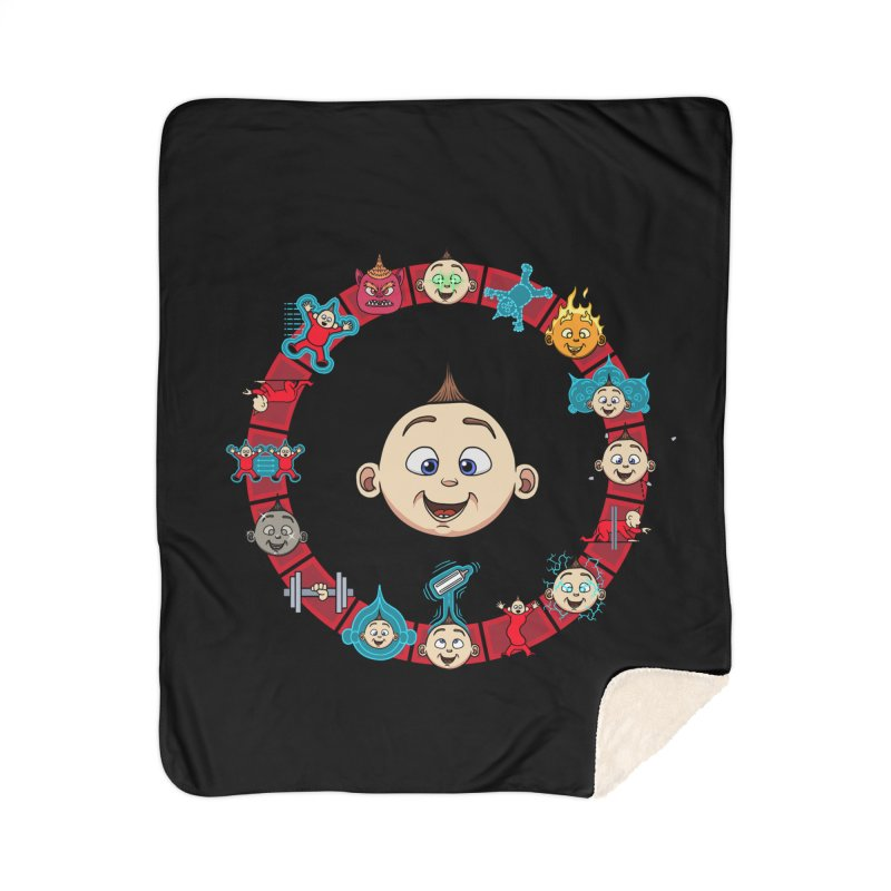 The Incredible Jack Jack Home Sherpa Blanket Blanket by ArtByDanger's Artist Shop