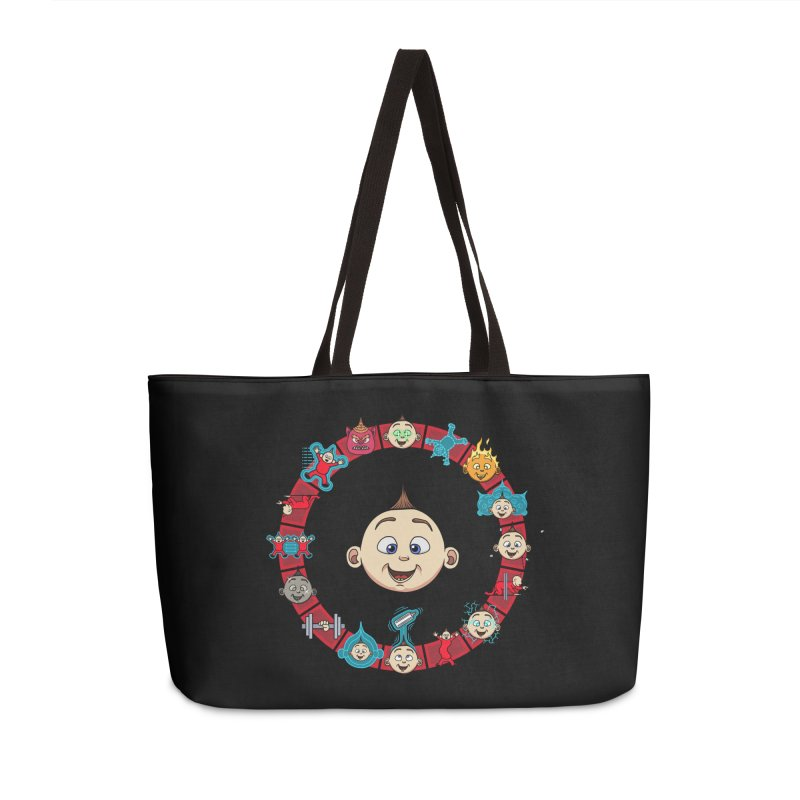 The Incredible Jack Jack Accessories Weekender Bag Bag by ArtByDanger's Artist Shop