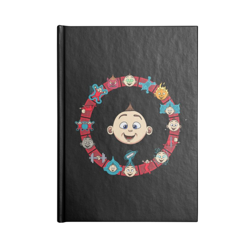 The Incredible Jack Jack Accessories Lined Journal Notebook by ArtByDanger's Artist Shop