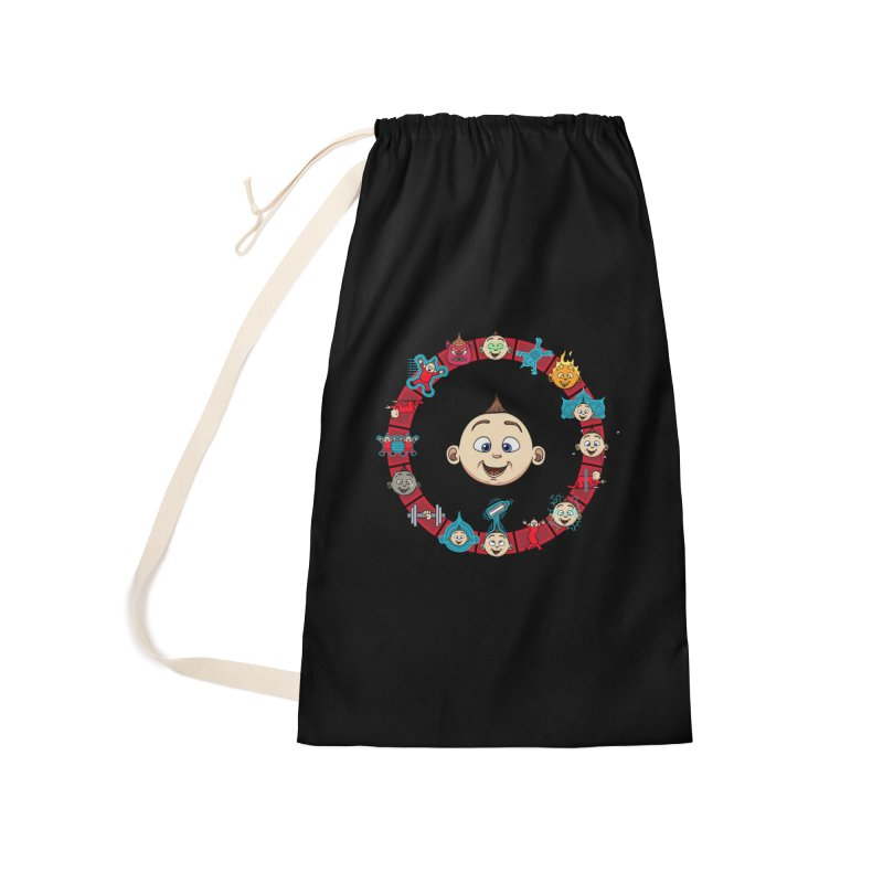 The Incredible Jack Jack Accessories Laundry Bag Bag by ArtByDanger's Artist Shop