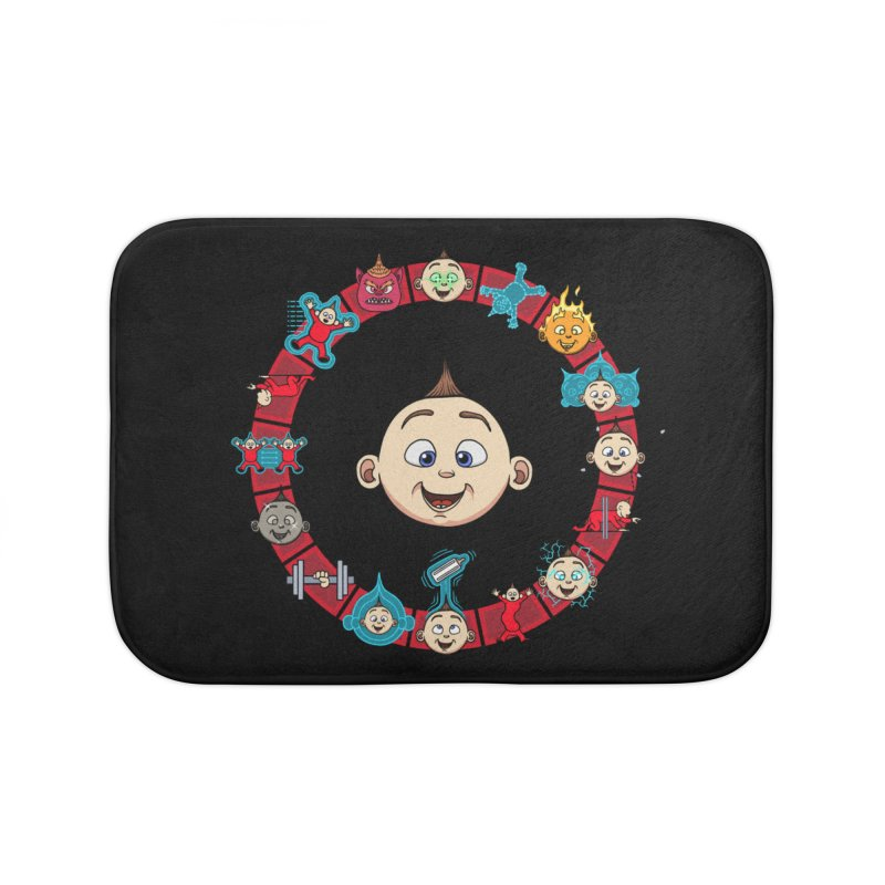 The Incredible Jack Jack Home Bath Mat by ArtByDanger's Artist Shop