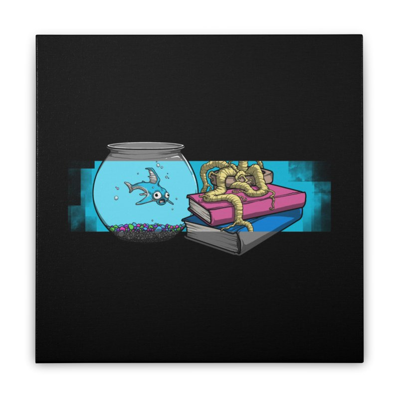 Altered Reality Still Life Home Stretched Canvas by ArtByDanger's Artist Shop