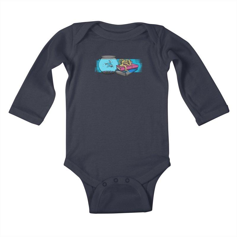 Altered Reality Still Life Kids Baby Longsleeve Bodysuit by ArtByDanger's Artist Shop