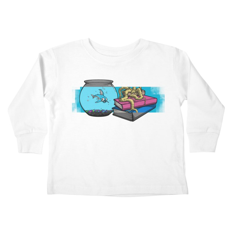 Altered Reality Still Life Kids Toddler Longsleeve T-Shirt by ArtByDanger's Artist Shop