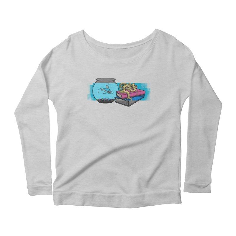 Altered Reality Still Life Women's Scoop Neck Longsleeve T-Shirt by ArtByDanger's Artist Shop