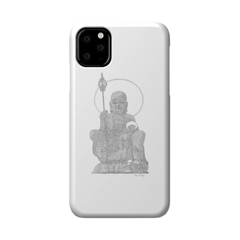 Buddha - One Continuous Line Accessories Phone Case by Daniel Dugan's Artist Shop