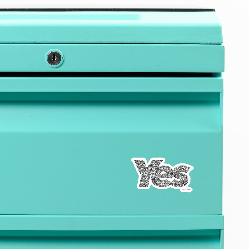 Yes Accessories Magnet by Daniel Dugan's Artist Shop