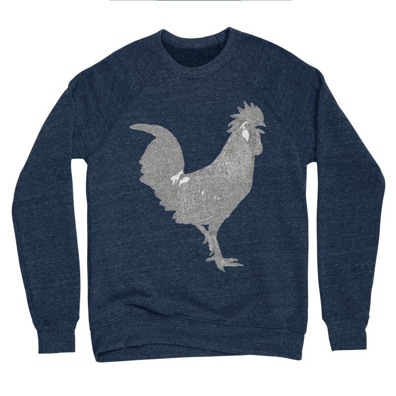 Cock - One Continuous Line Women's Sponge Fleece Sweatshirt by Daniel Dugan's Artist Shop
