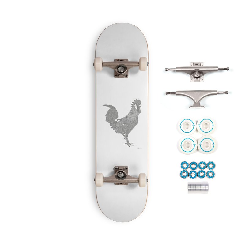 Cock - One Continuous Line Accessories Complete - Basic Skateboard by Daniel Dugan's Artist Shop