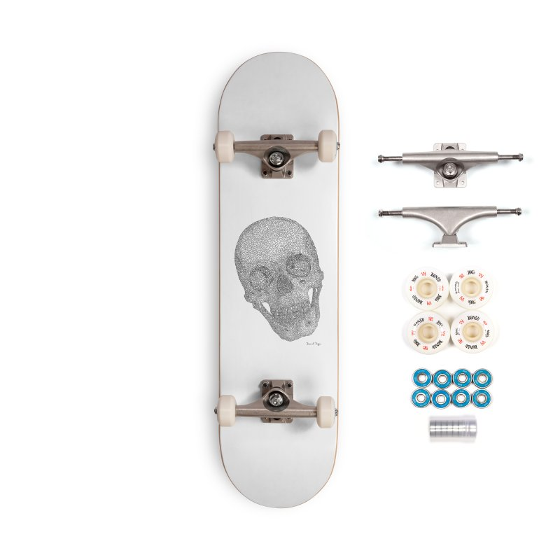 Skull Cocked Accessories Complete - Premium Skateboard by Daniel Dugan's Artist Shop
