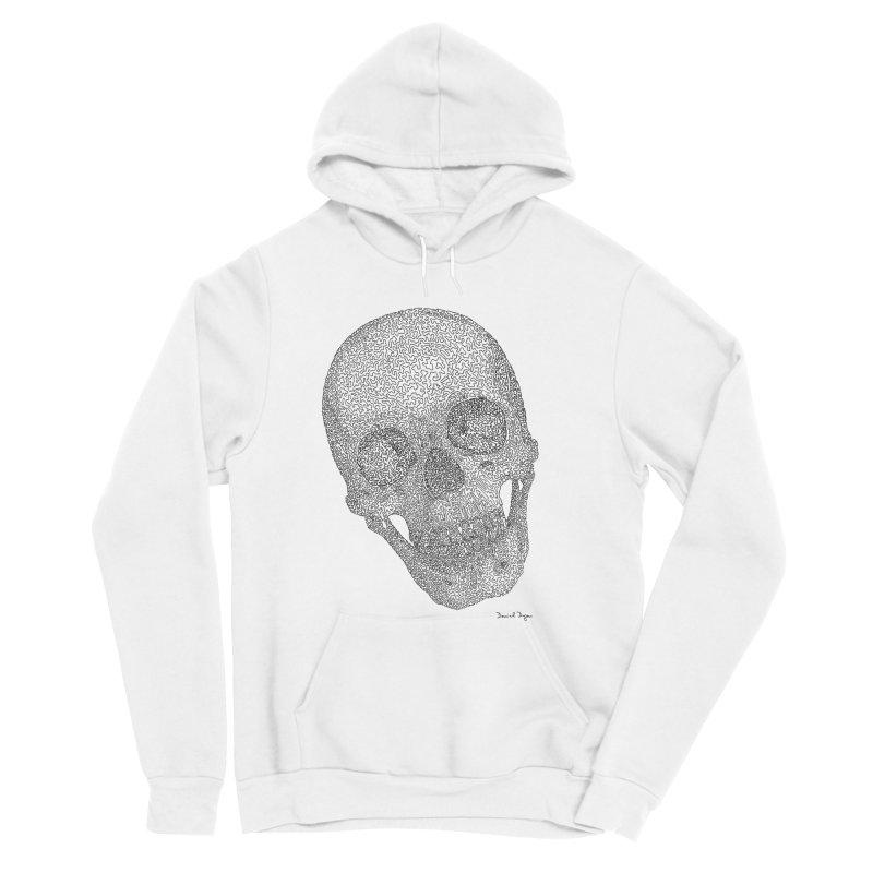 Skull Cocked Men's Sponge Fleece Pullover Hoody by Daniel Dugan's Artist Shop