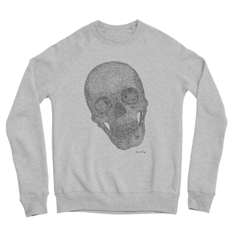 Skull Cocked Women's Sponge Fleece Sweatshirt by Daniel Dugan's Artist Shop