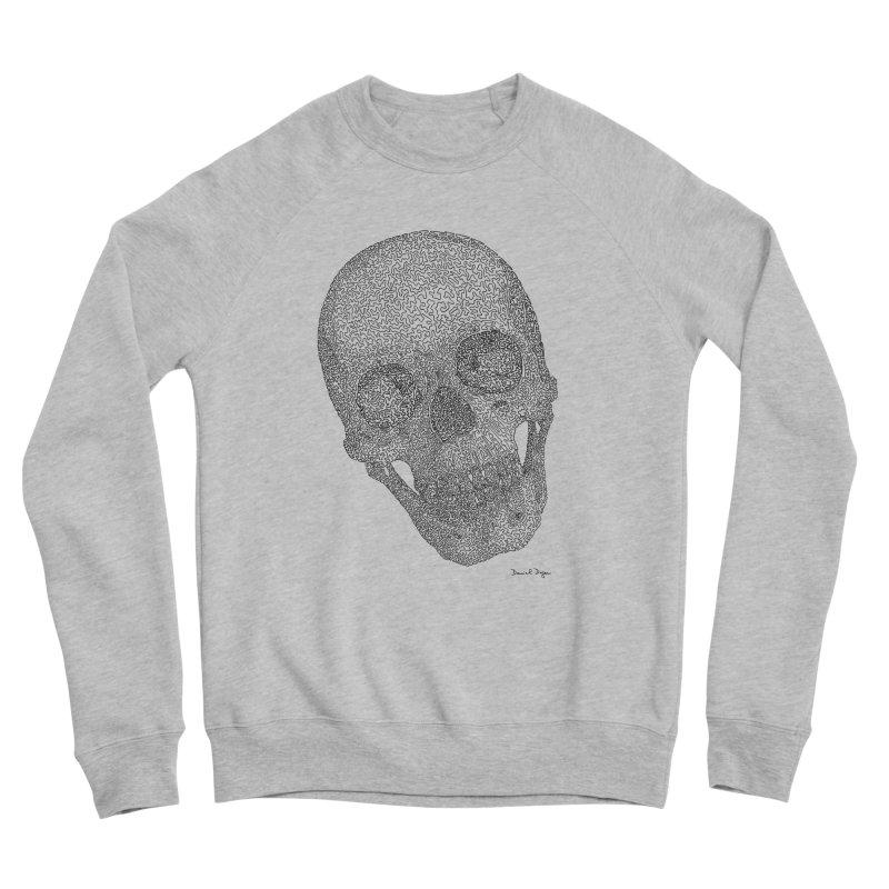 Skull Cocked Men's Sponge Fleece Sweatshirt by Daniel Dugan's Artist Shop