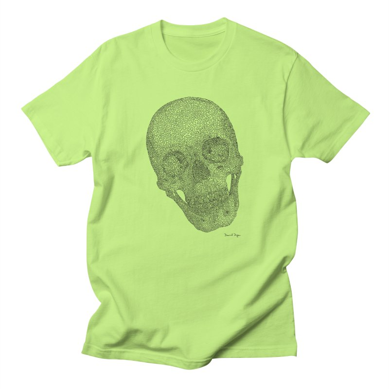 Skull Cocked Women's Regular Unisex T-Shirt by Daniel Dugan's Artist Shop