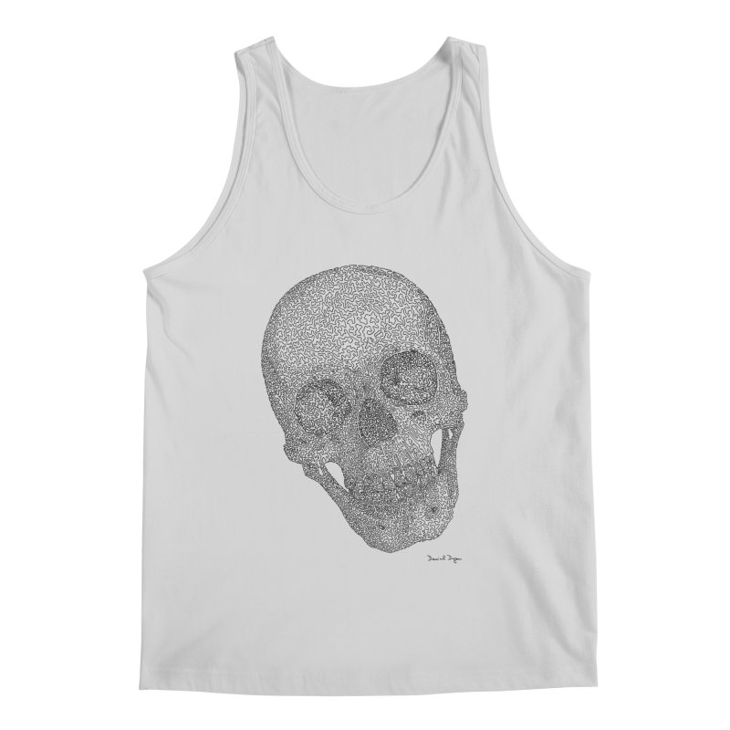 Skull Cocked Men's Regular Tank by Daniel Dugan's Artist Shop
