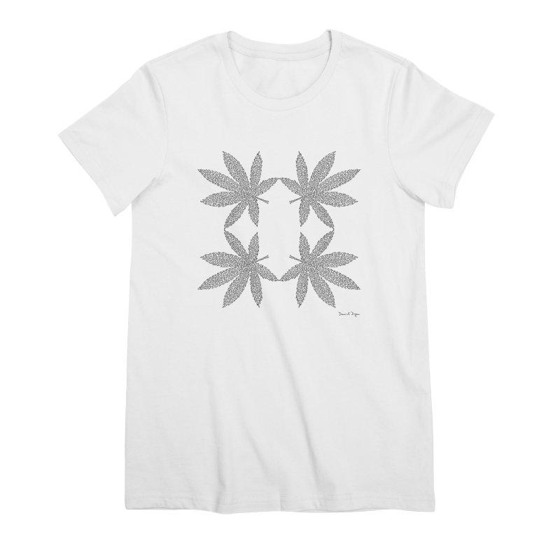 Flower Power Women's Premium T-Shirt by Daniel Dugan's Artist Shop