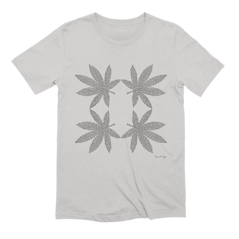Flower Power Men's Extra Soft T-Shirt by Daniel Dugan's Artist Shop