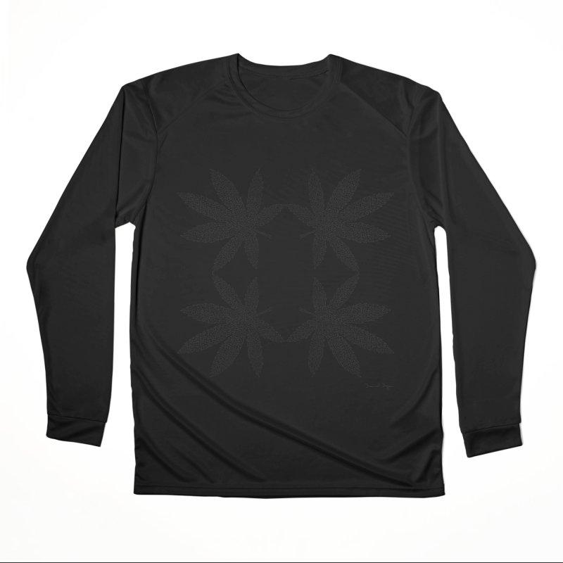 Flower Power Women's Performance Unisex Longsleeve T-Shirt by Daniel Dugan's Artist Shop