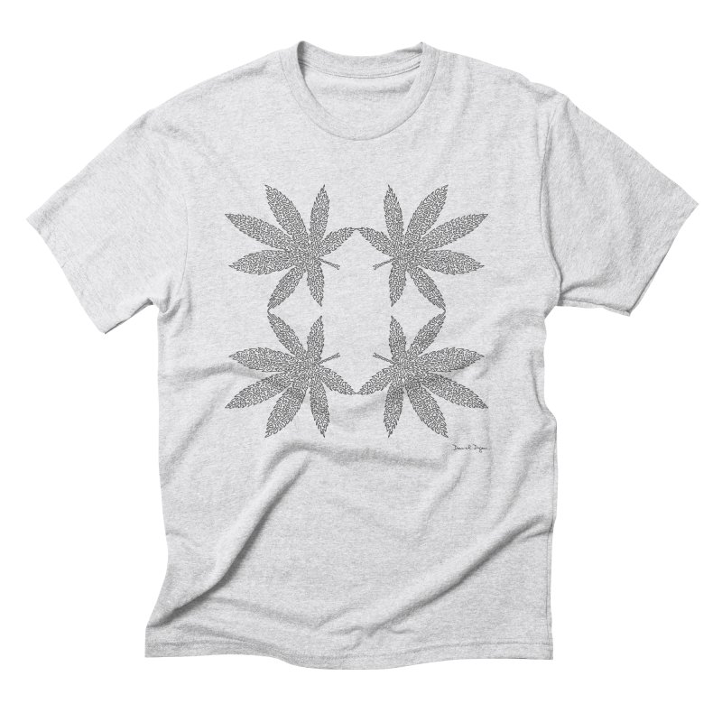 Flower Power Men's Triblend T-Shirt by Daniel Dugan's Artist Shop