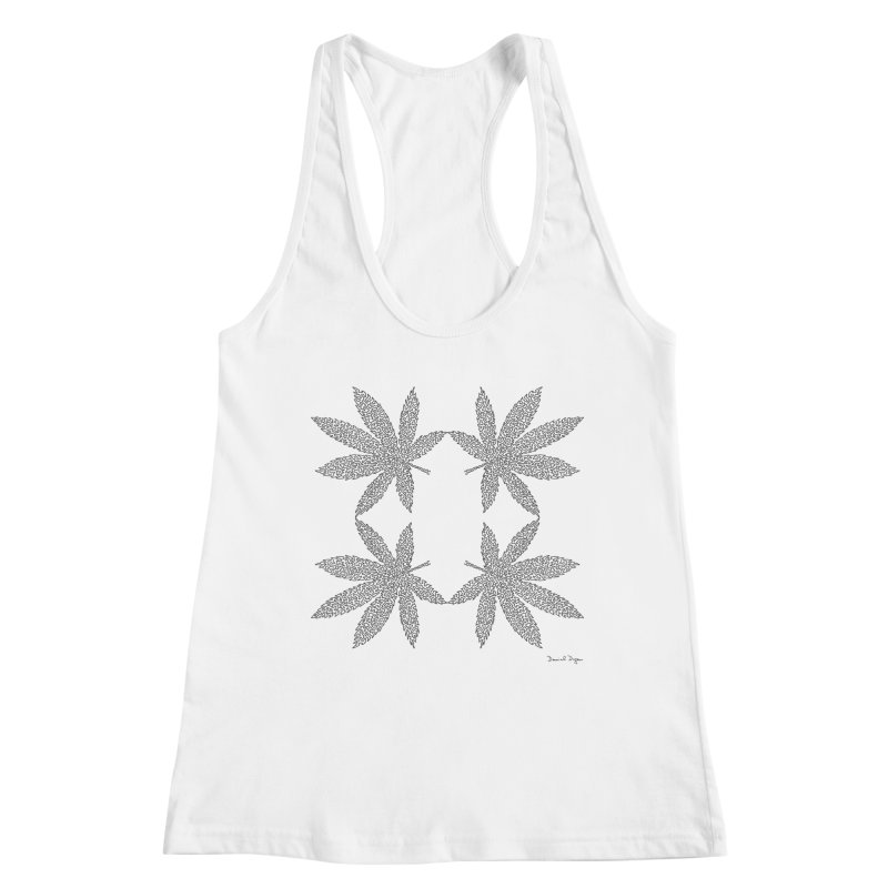 Flower Power Women's Racerback Tank by Daniel Dugan's Artist Shop