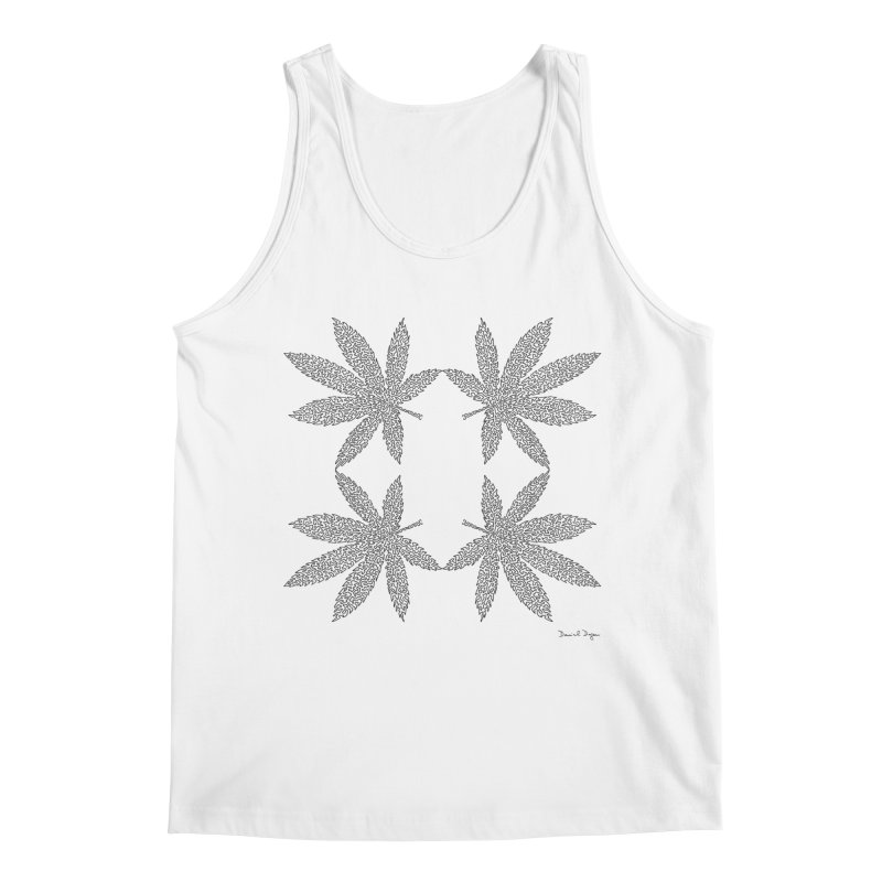 Flower Power Men's Regular Tank by Daniel Dugan's Artist Shop