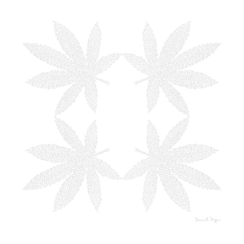Flower Power (For Dark Background) by Daniel Dugan's Artist Shop