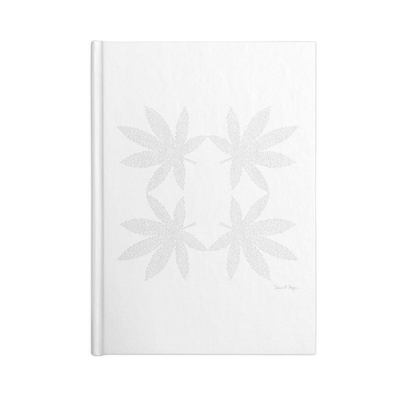 Flower Power (For Dark Background) Accessories Blank Journal Notebook by Daniel Dugan's Artist Shop