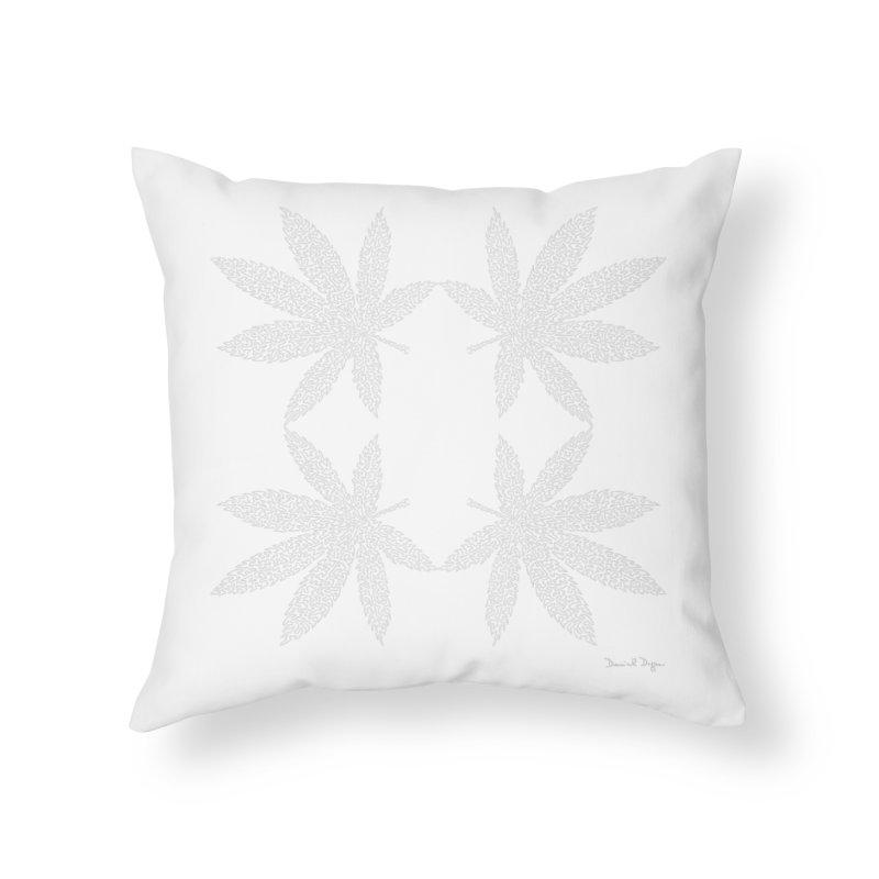 Flower Power (For Dark Background) Home Throw Pillow by Daniel Dugan's Artist Shop