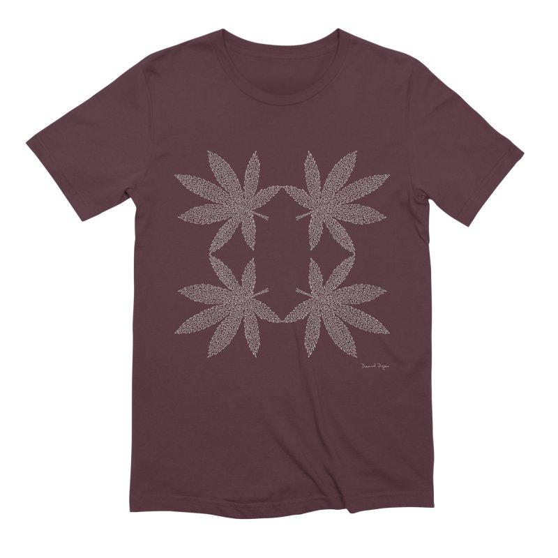 Flower Power (For Dark Background) Men's Extra Soft T-Shirt by Daniel Dugan's Artist Shop