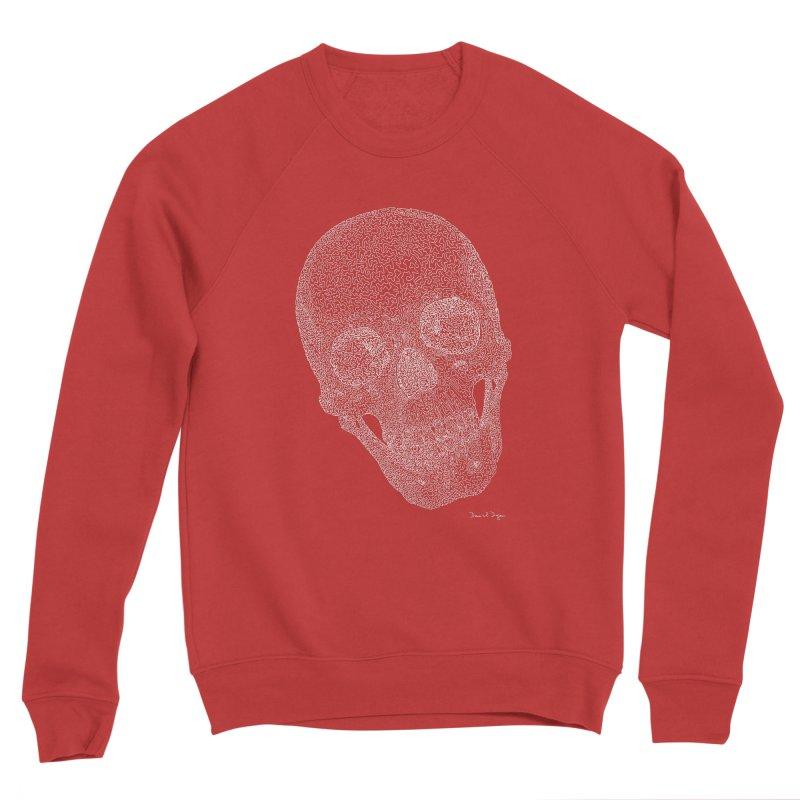 Skull Cocked (For Dark Background) Women's Sponge Fleece Sweatshirt by Daniel Dugan's Artist Shop