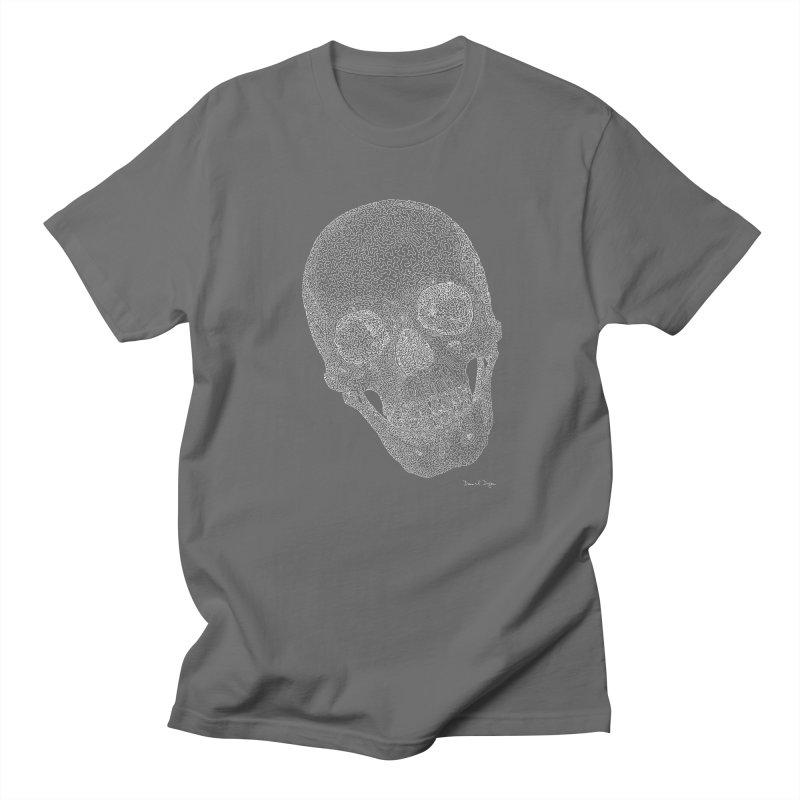 Skull Cocked (For Dark Background) Women's Regular Unisex T-Shirt by Daniel Dugan's Artist Shop