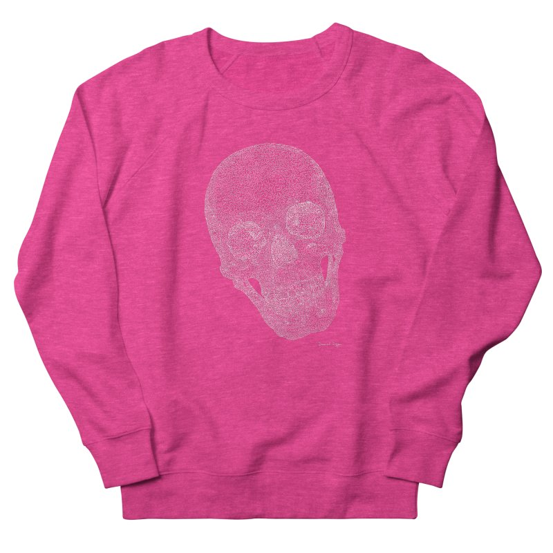 Skull Cocked (For Dark Background) Women's French Terry Sweatshirt by Daniel Dugan's Artist Shop