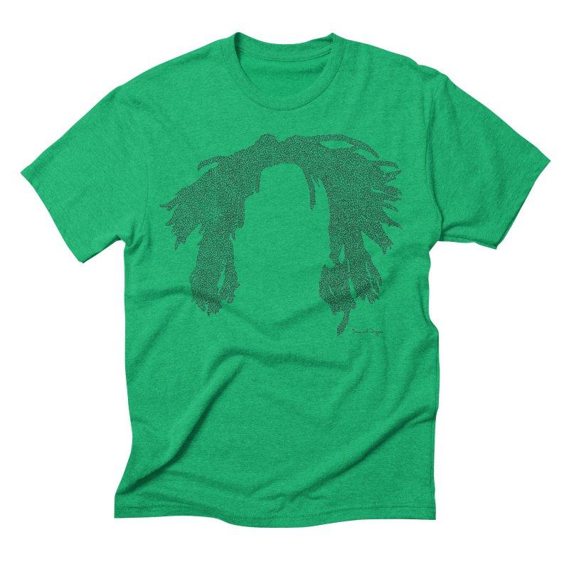 Bob Hair in Men's Triblend T-shirt Tri-Kelly by Daniel Dugan's Artist Shop