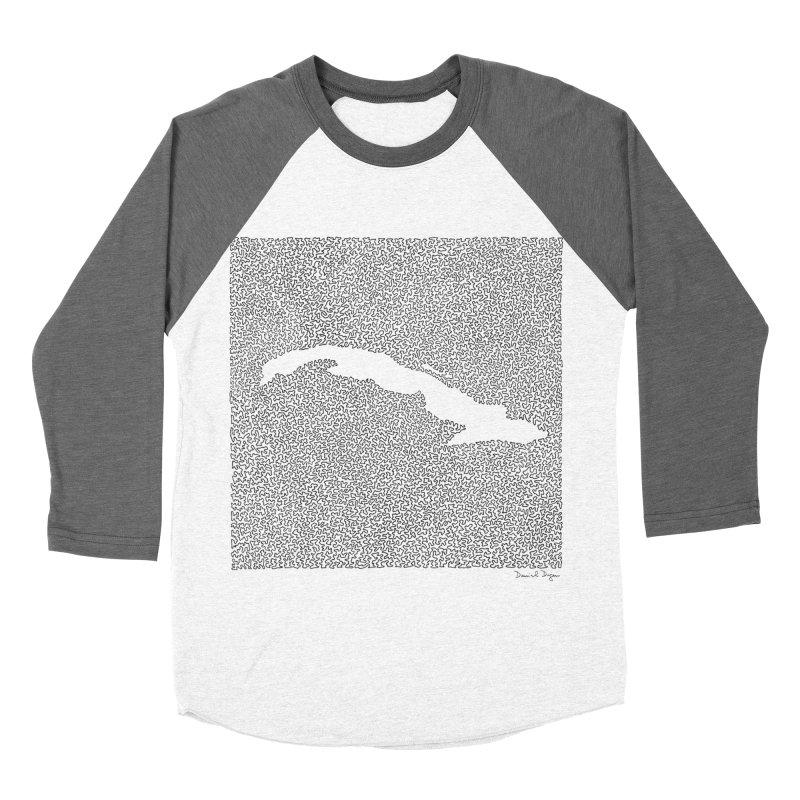 Cuba Women's Baseball Triblend T-Shirt by Daniel Dugan's Artist Shop