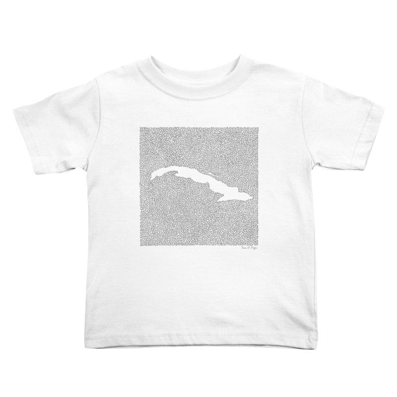 Cuba Kids Toddler T-Shirt by Daniel Dugan's Artist Shop